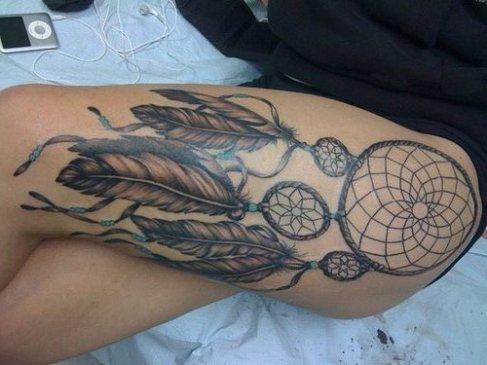 Inspiração Tatuagem De Apanhadores Sonhos Sweet Feelings Picture